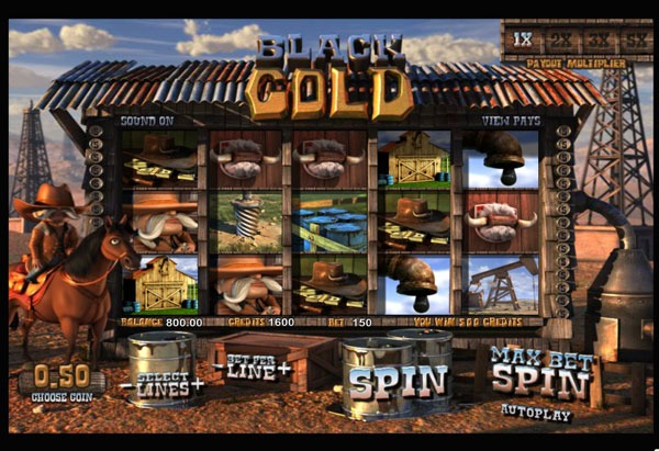 Black Gold Machine à Sous Gratuit (30 Lignes) betsoft