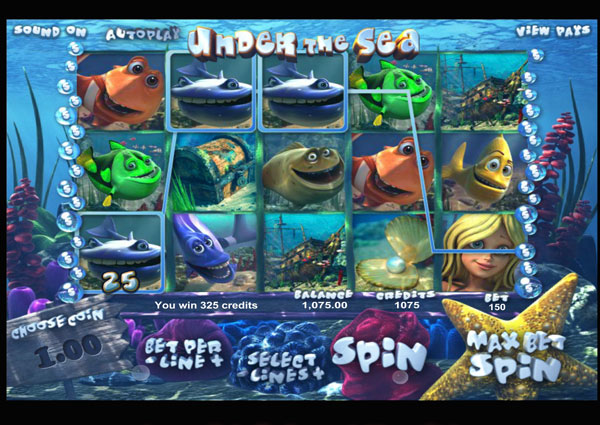 Under The Sea Machine à Sous Gratuit (30 Lignes) betsoft